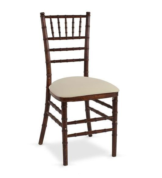 Chair Chiavari Wood Fruitwood Diamond Event And Tent Rentals