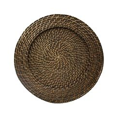 Rattan Wicker Charger
