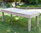 Cottage Grey Wood Table | 8'