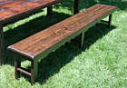 Vineyard Wood Bench