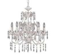 White Antique Chandelier