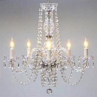 Crystal Chandelier | 5 Lights