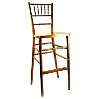 Chiavari Bar Stool | Gold