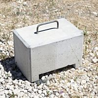 Cement Weight 200 Lbs Square
