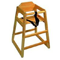 Children's Wood High Chair