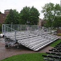 Bleacher Towable 10 Row 180 Person Capacity