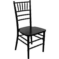 Resin Black Chiavari Chair