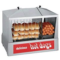 Concession Hot Dog Steamer 90 Ct