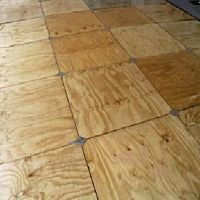 Floor Wood Laydown 4x8