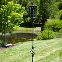 Tiki Torch Iron Black