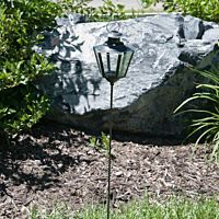 Lantern W Post Iron Coach Lamp 34""