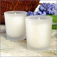 Tabletop Votive Frosted 2.5""