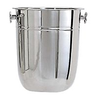 Champagne Bucket Stainless Steel Plain