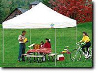Do-it-Yourself Party Canopy White 10'x10'x7' Legs Ez Up