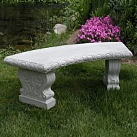 Granite Resin Garden Bench
