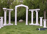 Corinthian Granite Column | 96""