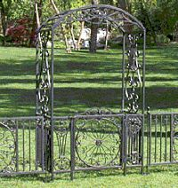 Black Plain Iron Arch