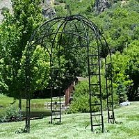 Bronze Maple Leaf Iron Gazebo