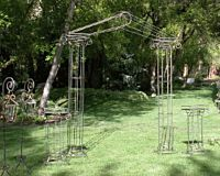 Plant Stand Iron Greek 3