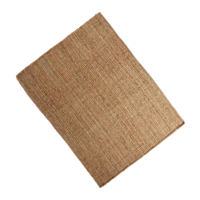 Natural Knotted Jute Area Rug 8'x10'
