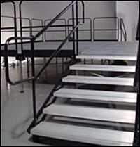 "Stage Stairs | 30"" to 48""  (5-Step)"