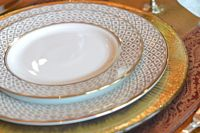 Marcella Gold China Set
