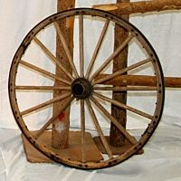 Decor Western Wagon Wheel | 36""