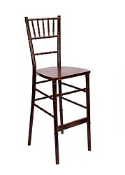 Chiavari Bar Stool | Fruitwood