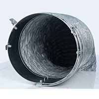 Heater 400K Black Supply Ducting