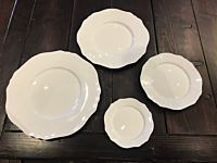 White Contessa China Set