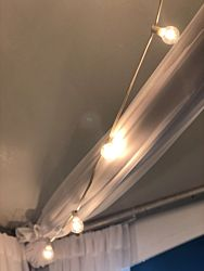 Bistro Lighting - White Cord | 50 ft