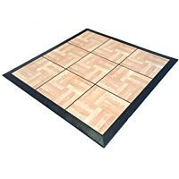 Solid Wood Plastic Dance Floor