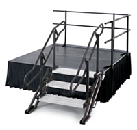 "Stage Stairs Deluxe | 30"" to 40""  (4-Step)"