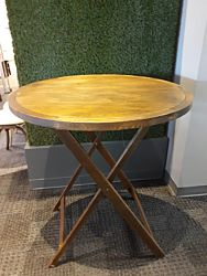 Sundance Round Wood Pedestal Table | 36""