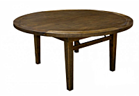 Sundance Round Wood Table | 66""